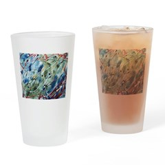 Untitled Abstract Drinking Glass
