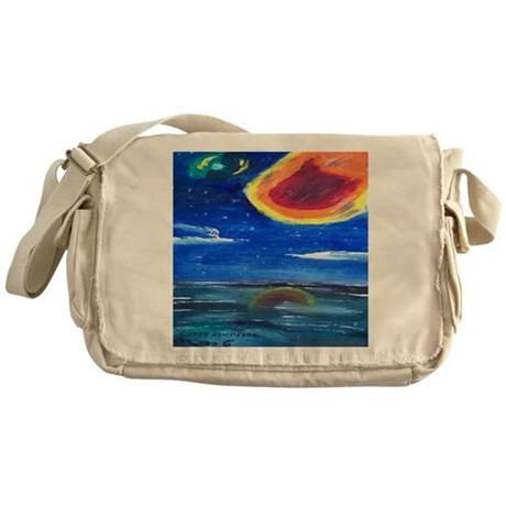 Asteroids Messenger Bag