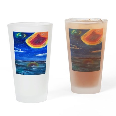 Asteroids Drinking Glass