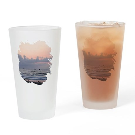 Seascape Drinking Glass