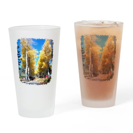 Aspen Trail Drinking Glass