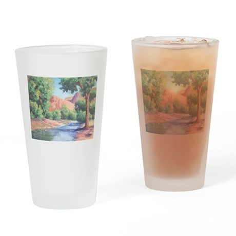 Summer Canyon Drinking Glass