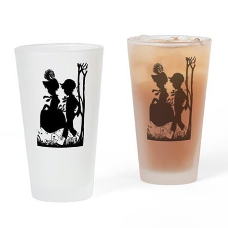 Young Love Drinking Glass