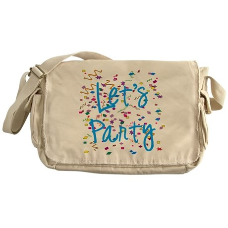 Let's Party Messenger Bag