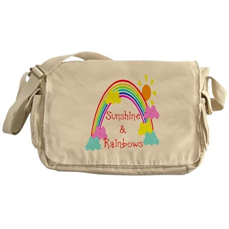 Sunshine Rainbows Messenger Bag