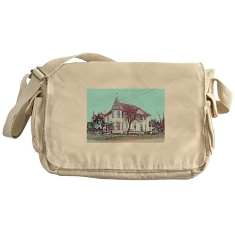 Old House on the Corner Messenger Bag