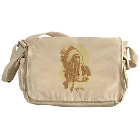 Indian Chief Messenger Bag