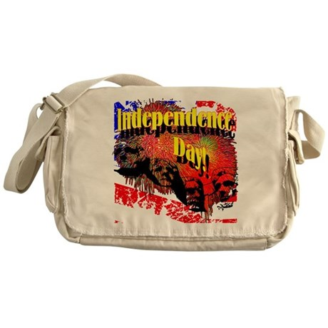 Independence Day Messenger Bag