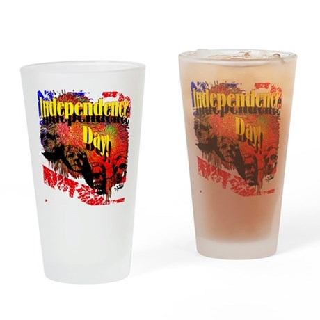 Independence Day Drinking Glass