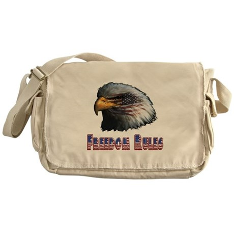 Freedom Rules Eagle Messenger Bag