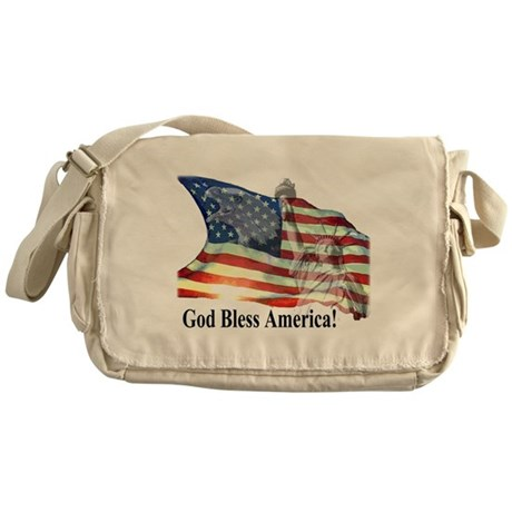 God Bless America! Messenger Bag