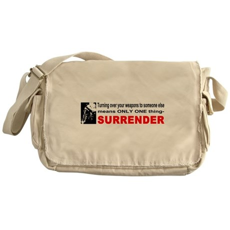 Anti Gun Control Messenger Bag