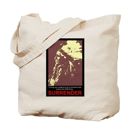 Anti-Gun Control Tote Bag