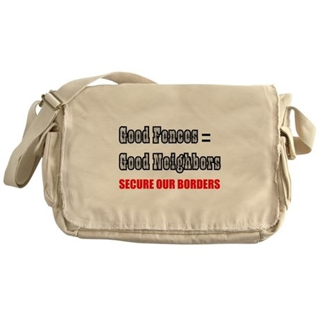 Anti Illegal Immigration Messenger Bag