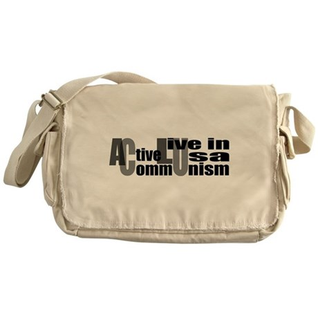 Anti-ACLU Messenger Bag