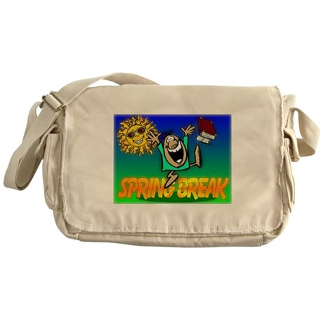 Spring Break Messenger Bag