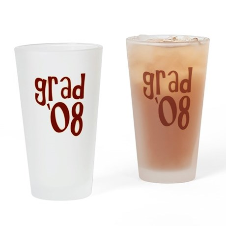 Grad 08 - Brown - Drinking Glass
