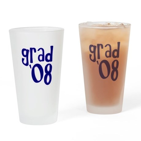 Grad 08 - Purple - Drinking Glass