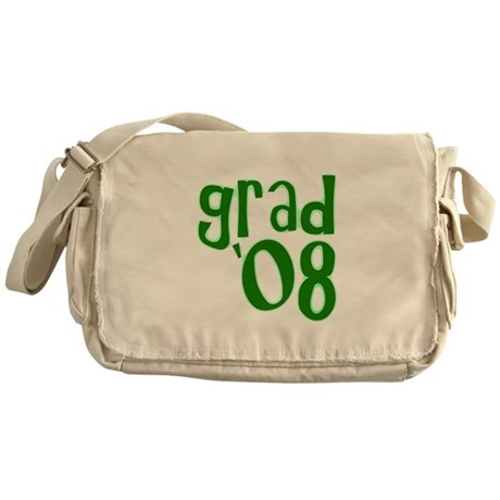Grad 08 - Green - Messenger Bag
