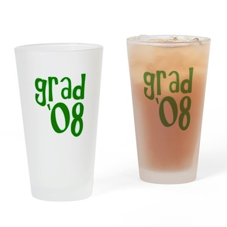 Grad 08 - Green - Drinking Glass