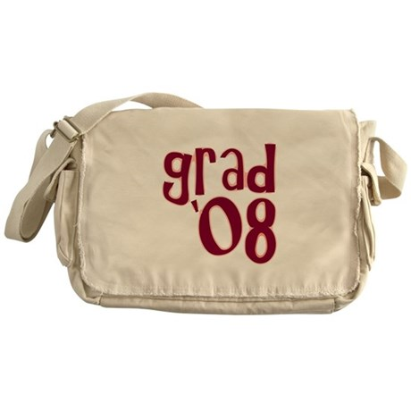 Grad 08 - Brick Red - Messenger Bag