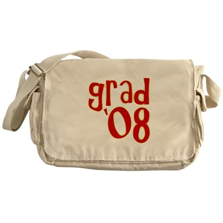 Grad 2008 - Red - Messenger Bag