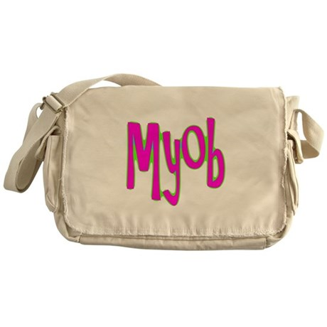 MYOB Messenger Bag