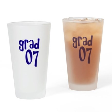 Grad 07 Drinking Glass