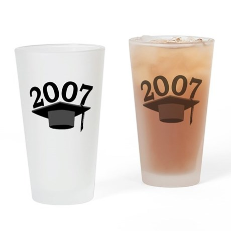 Graduation 2007 Drinking Glass