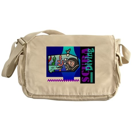 Scuba Diving Messenger Bag