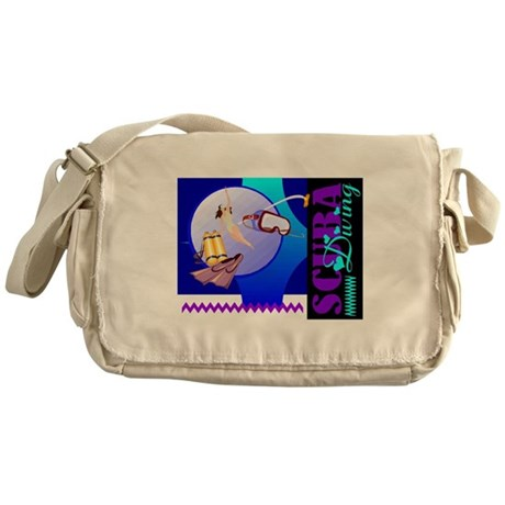 Female Scuba Diving Messenger Bag