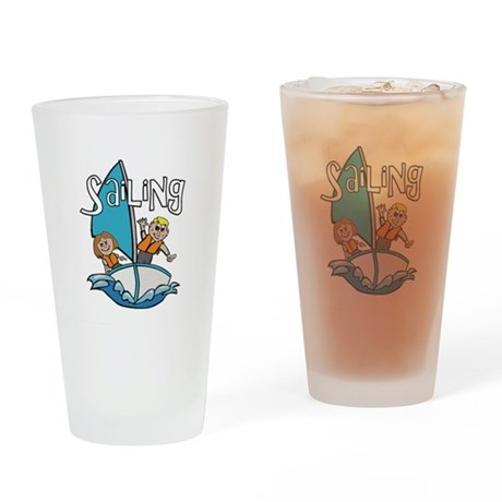 Sailing Drinking Glass