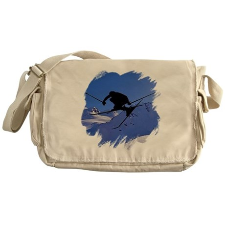 Ski Messenger Bag