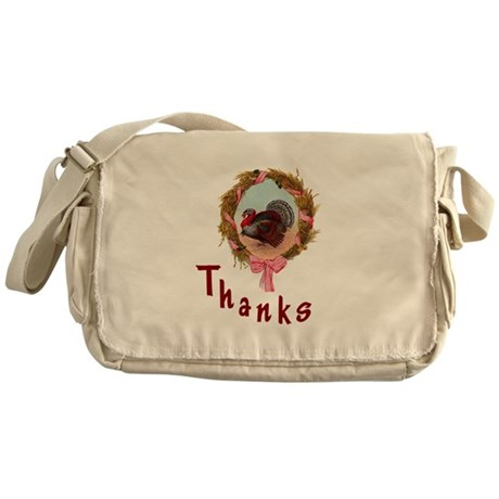 Thanks Turkey Messenger Bag