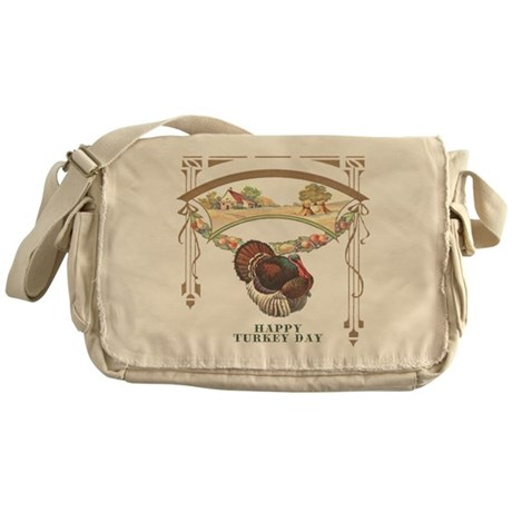 Turkey Day Messenger Bag