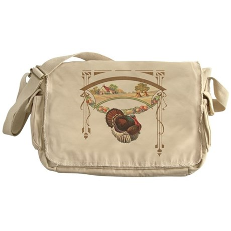 Thanksgiving Turkey Messenger Bag