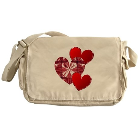 Country Hearts Messenger Bag