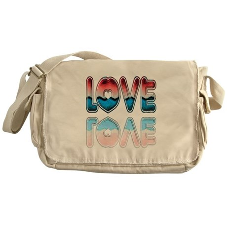 Valentine Love Messenger Bag