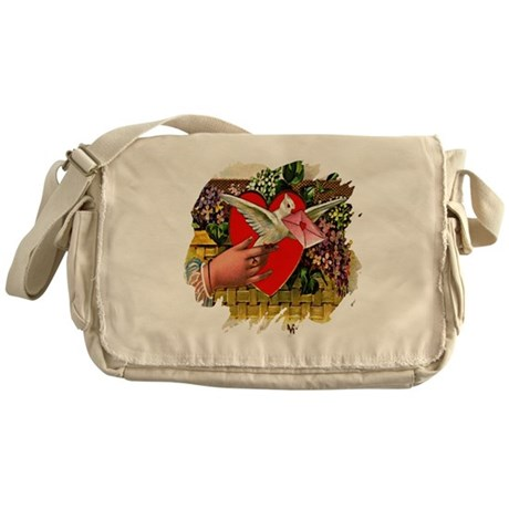 Valentine Messenger Bag