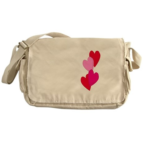 Candy Hearts Messenger Bag