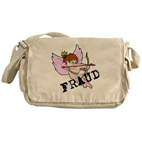 Cupid is a FRAUD! Messenger Bag