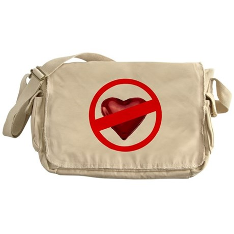 No Love Messenger Bag