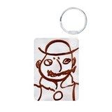 Cute Joyce Aluminum Photo Keychain