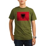 Albania Organic Men's T-Shirt (dark)