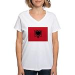 Albania Women's V-Neck T-Shirt