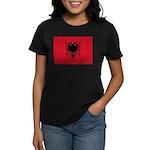 Albania Women's Dark T-Shirt