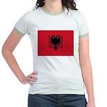 Albania Jr. Ringer T-Shirt