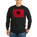 Albania Long Sleeve Dark T-Shirt