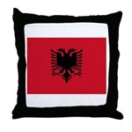 Albania Throw Pillow