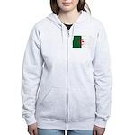 Algeria Women's Zip Hoodie